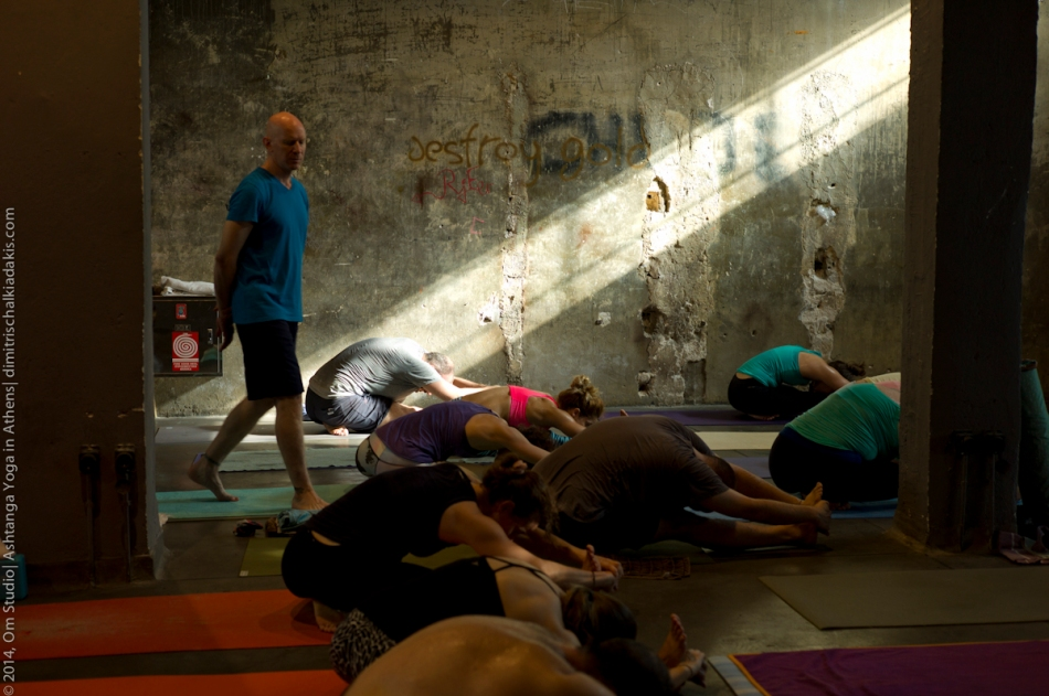 Eddie and Jocelyne Stern@ Om Studio| Ashtanga Yoga in Athens-129