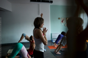 Eddie and Jocelyne Stern@ Om Studio| Ashtanga Yoga in Athens-57