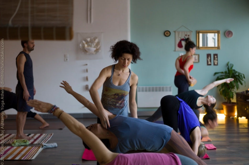 Om Studio| Ashtanga Yoga Atnens| Workshop-58